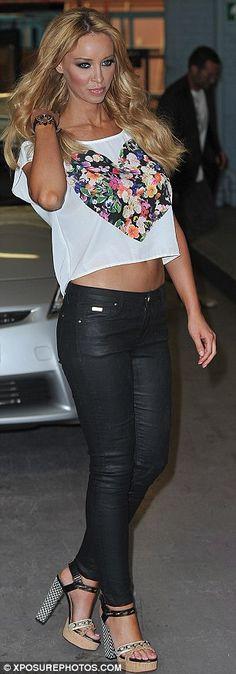Lauren Pope and her fab Lanvin heels