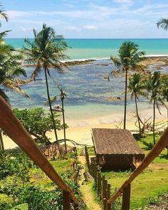"""1,153 curtidas, 7 comentários - Turismo Bahia (@turismobahia) no Instagram: """"Em dias de frente fria, uma foto da Praia do Satu, em Caraíva, para aquecer os nossos corações...🥰…"""""""