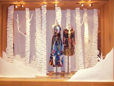 Anthropologie Visual Display Coordinator Internship by Desiree A.J.H. Harig, via Behance