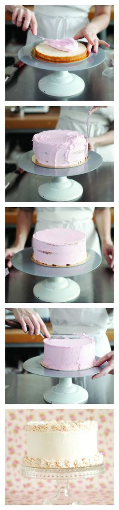 Fear Not the Frosting! Ice a cake like a pro with Butter Bakery's Rosie Daykin.