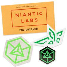 Enlightened sticker pack. $4.30