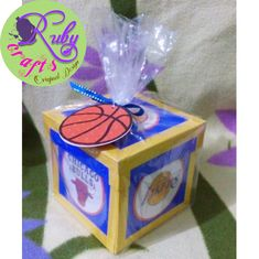BASKETBALL-THEMED JERSEY EXPLOSION BOX Originally designed and sold by Ruby Crafts and Gifts Shop #rubycrafts #rubycraftsandgiftsshop #giftshop #jerseyexplotionbox #basketballthemedexplotionbox #personalizedexplotoinbox #explotionbox #explodingbox #favorideas #giftideas #personalizedgift #token #souvenir Exploding Boxes, Explosion Box, Favors, Basketball, Shop, Gifts, Things To Sell, Design, Art