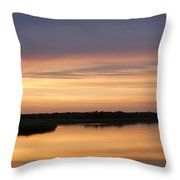 Peaceful Reflection Throw Pillow by Inspired Arts