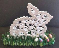 Quilled White Rabbit