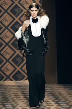 Jean Louis Scherrer at Paris Fashion Week Fall 2005 - StyleBistro