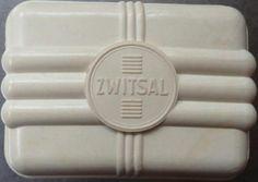 Zwitsal - zeepdoos gemaakt van kunststof