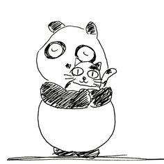 【一日一大熊猫】2016.9.18 ペット可のマンションには エレベーターに「ペット」ボタンがあるよ。 これは待っている人に「今現在ペットもエレベーターに乗ってますよ」 と知らせるためなんだとか。 #パンダ #panda #ペット #犬 #猫