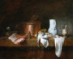 Jean Siméon Chardin,  The Kitchen Table  1755