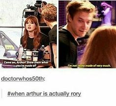 When Arthur actually became Rory