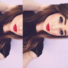 Redlips blackeyes so perfect!