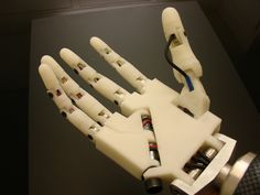 When we finally finish our own robotic hand with 3D printing... We will be unstoppable Jan Ken Po masters!