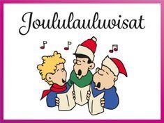Joululauluvisat #visa #tietovisa #joulu #joululaulu #musiikki #ryhmätoiminta #tulostettava #ryhmät #virike #juhla
