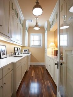 Browse pictures of laundry room storage and organization.
