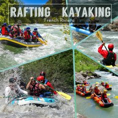 rafting kayaking french riviera nice cannes