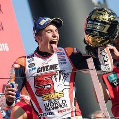 Marc Marquez Motogp World Champion 2016