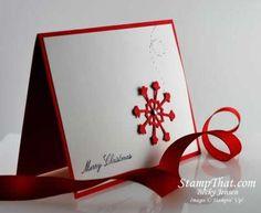 Handmade Christmas Cards   Simple and Easy Handmade Christmas Cards - Stewartstown, PA