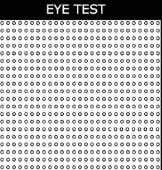 Test de agudeza visual: ¿Dónde está la C? #AguezaVisual #pasatiempo #ocio