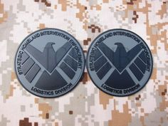 Grey The Avengers S.H.I.E.L.D Tactical Military Morale 3D PVC Velcro Patch words #JGF2005 #TheAvengers