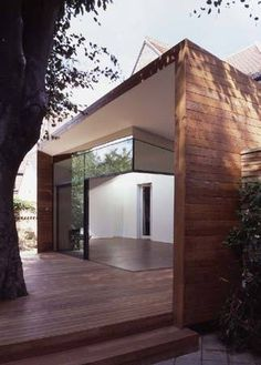 Image result for dark wood exterior cladding