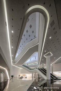 Nanjing Youth Olympic Centre - Zaha Hadid - China ~ DesignDaily