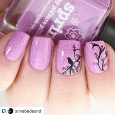Such a beautiful mani! #Repost @annebadeand with @repostapp.  Beautiful pink {Spring} by #PicturePolish @picturepolish So happy I took to sense and ordered this from @color4nails. Stamped with #joliepolishstamping @joliepolish black and #emilydemolly @emilydemolly EDM19.  #indiebrand #supportindiebrands #indieswatch #indiepolish411 #alltheindies #nailstamping #instanails #nailfeature #thenailartstory #featuremynails #nails2inspire #nailartpromote #inspired_nailart #nailswag #sgnailpromote…