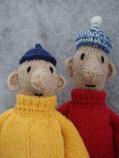 A je to, Buur! - Ravelry: Pat and Mat Knitting pattern/buurman en buurman breipatroon pattern by Elise wesselo