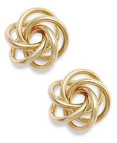 Open Love Knot Earrings