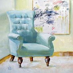 subtle hint, painting by artist Kimberly Applegate