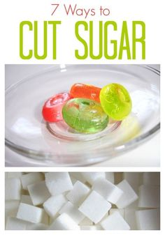7 Ways to Cut Sugar from your Diet. Find helpful tips for eating a diet with less sugar.