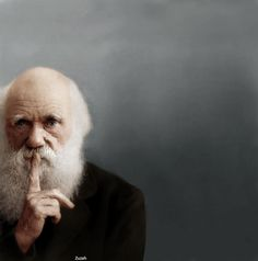 Charles Darwin  Adding Colors to History - A Collection of 30+ Colorized Historic Photos_20 @ GenCept