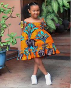Baby African Clothes, African Dresses For Kids, African Dresses For Women, African Print Dresses, Dresses Kids Girl, African Kids, Girls, Latest African Fashion Dresses, African Fashion Ankara