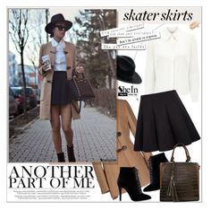 """""""Skater Girl"""" by aurora-australis ❤ liked on Polyvore featuring KOCCA, Eastex, Sheinside and skaterSkirts"""