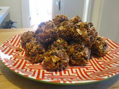Coconut peanut butter energy bars