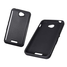Hybrid Shockproof Dual Layer Armor Back Cover Case For Sony Xperia E4