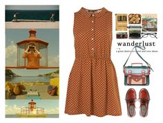 """""""Wes Anderson world"""" by pumpkinpaes ❤ liked on Polyvore featuring Mason's, Anderson's Belts, Remington, Leica, women's clothing, women, female, woman, misses and juniors"""