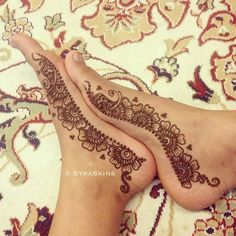 Syraskins Simple Feet #Henna.