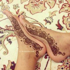 Syraskins Simple Feet #Henna.