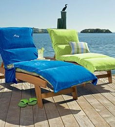 Chaise Lounge Cushion Slipcovers