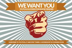Are U a #graphic #designer? WE WANT YOU! www.youtool.it