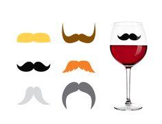 """/""""I Moustache You a Question/"""" Dart Flights 3 per set"""