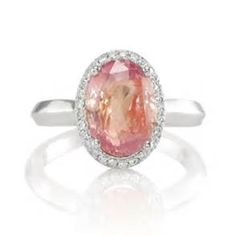 Padparadscha sapphire ORANGE & PINK | Jewelry box | Pinterest