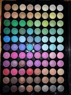 My eyeshadow colors
