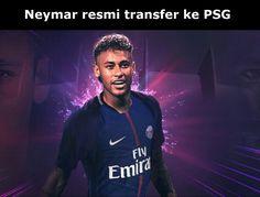 Neymar akhirnya tanda tangan kontrak dengan klub Paris Saint-Germain senilai Rp 3,5 triliun.