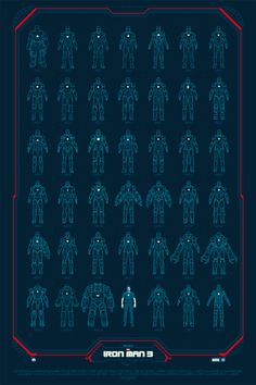 "Collectible ""Iron Man 3"" Posters Are Totally Badass"