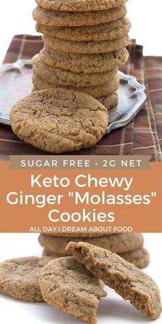 Ketogenic Desserts, Keto Snacks, Keto Sweet Snacks, Ketogenic Diet, Low Carb Sweets, Low Carb Desserts, Cookie Recipes, Dessert Recipes, Breakfast Recipes