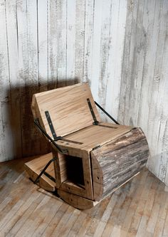 Silla Waste Less / architecture uncomfortable workshop