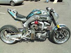 Holy Mother of God. Yamaha MT01 Turbocharged.