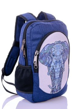 ed229a2251 SALE 20% OFF Elephant backpack Canvas rucksack Hippie backpack Womens  backpack Thai backpack Hmong b