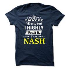 NASH - I may be Team