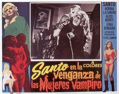 Santo en la Venganza de las Mujeres Vampiro